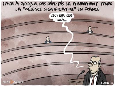 Face à Google, des députés LR aimeraient taxer la « présence digitale significative » en France