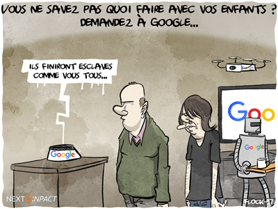 Vous ne savez pas comment occuper vos enfants ? Demandez à Google...