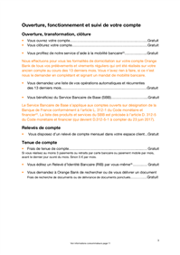 Orange Bank Tarifs