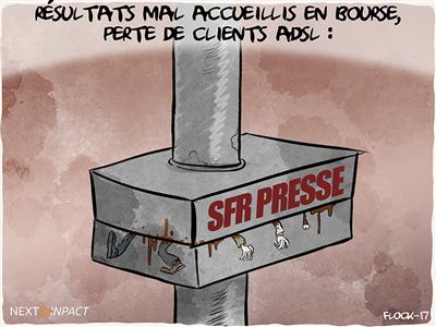 SFR perd du terrain en France, Altice sévèrement corrigée en bourse