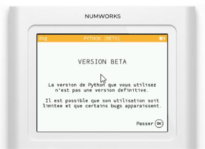 Numworks test