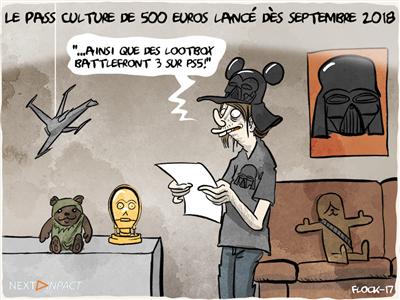 Le Pass Culture de 500 euros lancé dès septembre 2018