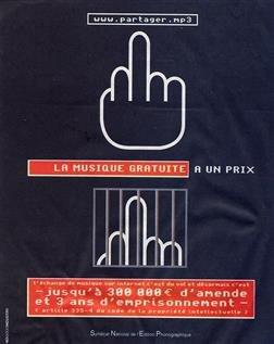 SNEP doigt d'honneur