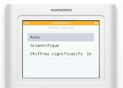Numworks firmware 1.2.0