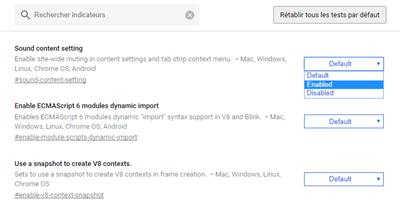 Chrome 63 Sound Content Setting