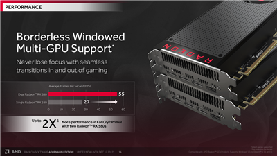 AMD Radeon Adrenalin Améliorations