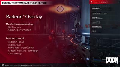 AMD Radeon Overlay