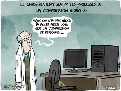 Le CNRS revient sur « les prouesses de la compression vidéo »