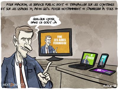 Audiovisuel public : Macron promet un projet de loi « avant la fin de l'année »