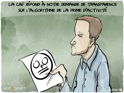 La CAF répond à notre demande de transparence sur l'algorithme de la prime d'activité