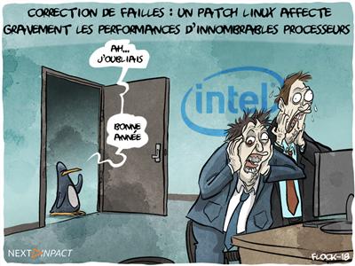 Failles Meltdown/Spectre : Intel prépare des mises à jour avec ses partenaires pour le 9 janvier