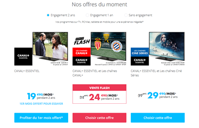 Offre Canal+ 2018