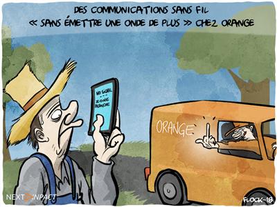 Des communications sans fil « sans émettre une seule onde de plus » chez Orange