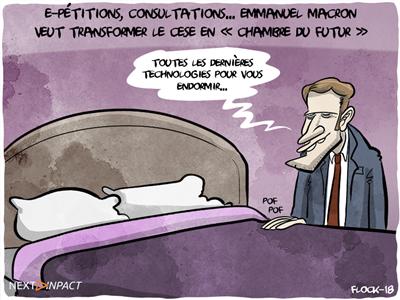 E-pétitions, consultations... Emmanuel Macron veut faire du CESE la « Chambre du futur »