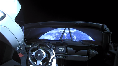 Tesla SpaceX Falcon Heavy