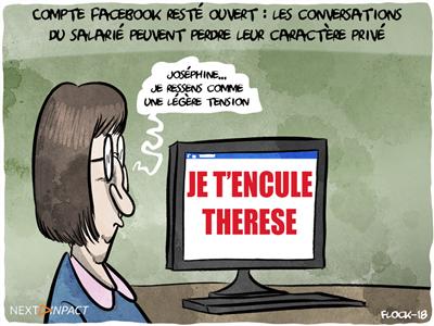 Compte Facebook resté ouvert : les conversations du salarié peuvent perdre leur caractère privé