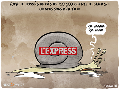 Fuite de données personnelles à L'Express, un beau cas pratique pour le RGPD