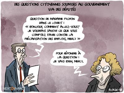 De nouveaux députés vont relayer les questions des internautes au gouvernement