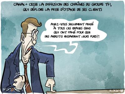 Canal+ cesse la diffusion des chaînes du groupe TF1, qui s'étonne de cette décision