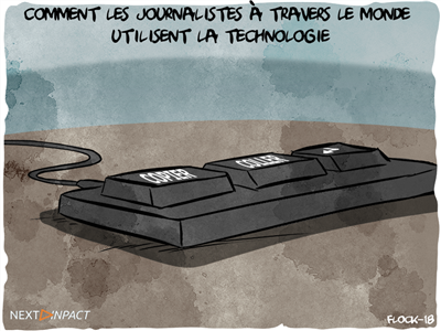 Comment les journalistes à travers le monde utilisent la technologie