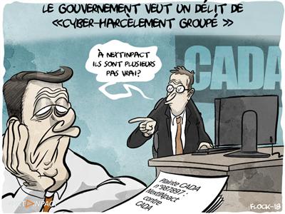 Le gouvernement veut un délit de « cyber-harcèlement groupé »