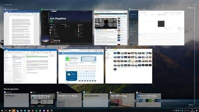 Windows 10 SCU Timeline