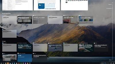 Windows 10 SCU Timeline
