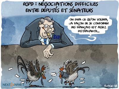 Députés et sénateurs échouent à trouver un accord sur le projet de loi RGPD