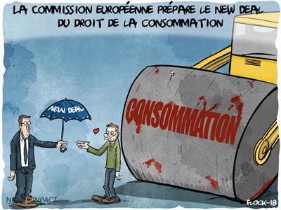 La Commission européenne prépare le New Deal du droit de la consommation