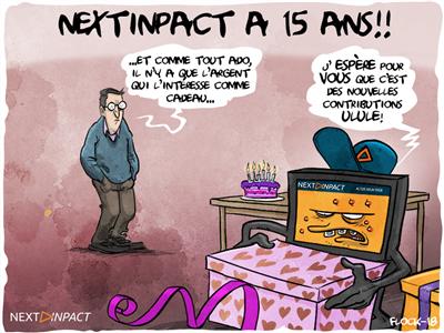 Next INpact fête ses 15 ans !