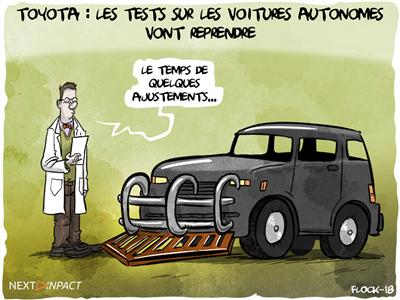 Toyota : les tests sur les voitures autonomes vont reprendre