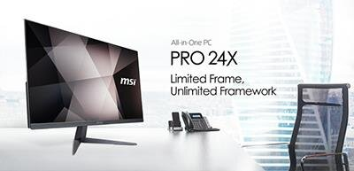 MSI PRO 24X Series All-in-One PC