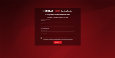 Netgear Nighthawk Pro Gaming XR500 Configuration
