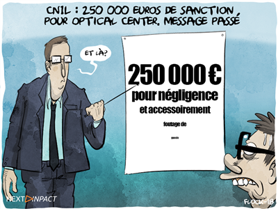CNIL : 250 000 euros de sanction pour Optical Center, des milliers de factures sans protection