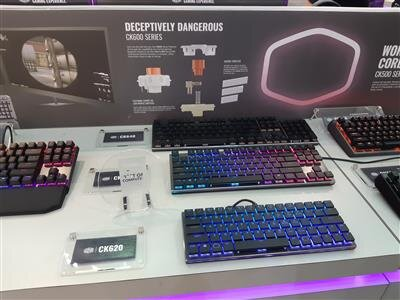 Computex 2018 Cooler Master clavier Low Profil MX