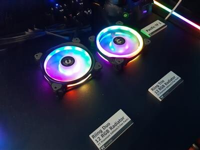Thermaltake venitilateurs Computex 2018