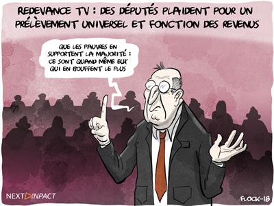 Redevance TV : des députés plaident pour un prélèvement universel et proportionnel aux revenus