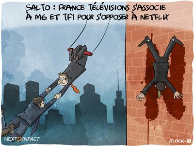 SALTO : France Télévisions s'associe à M6 et TF1 pour s'opposer à Netflix… et à Molotov ?