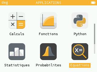 Numworks Equations