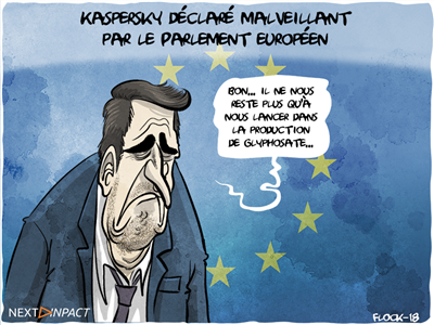 Kaspersky déclaré malveillant par le Parlement européen