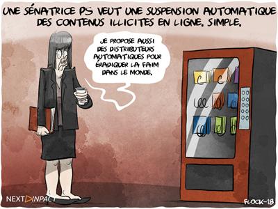 Une sénatrice PS veut une suspension automatique des contenus illicites en ligne