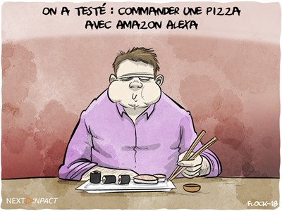 On a testé : commander une pizza avec Amazon Alexa