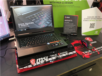 MSI GS65 Stealth Thin Max-Q