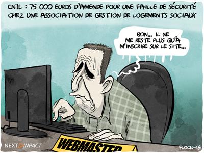 CNIL : 75 000 euros d'amende pour une faille de sécurité, sans mise en demeure préalable