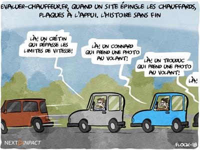 Evaluer-chauffeur.fr, quand un site épingle les chauffards, plaques à l'appui
