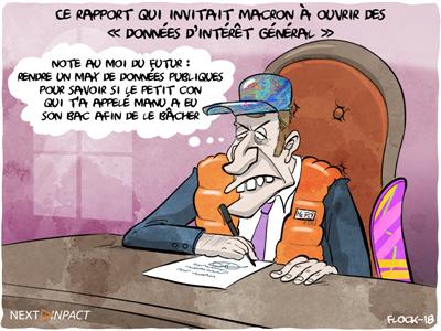 Ce rapport qui invitait Macron à ouvrir des « données d'intérêt général »