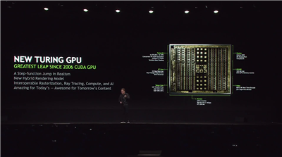NVIDIA Turing Annonce SIGGRAPH