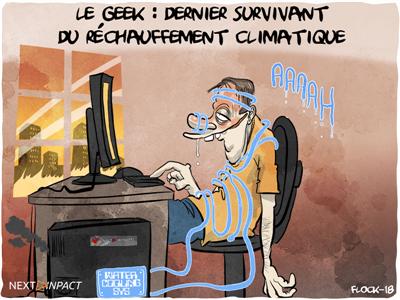 Le geek : dernier survivant du réchauffement climatique