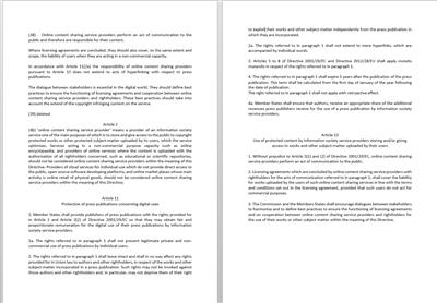 compromis VOSS art 13 12