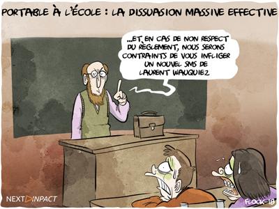 Laurent Wauquiez, les SMS adressés aux lycéens et le RGPD